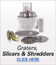 Graters, Slicers & Shredders